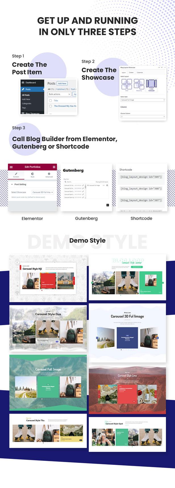 Advanced Carousel Blog Layout Design - 4