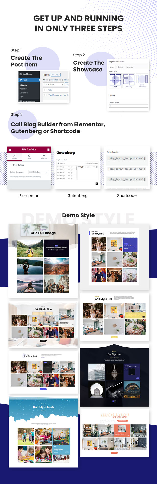 Advanced Grid Blog Layout Design - 4