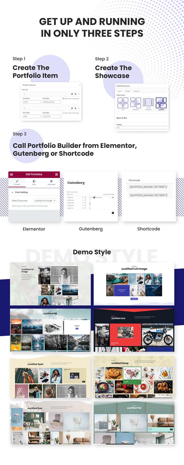 Advanced Justified Portfolio Builder - 4