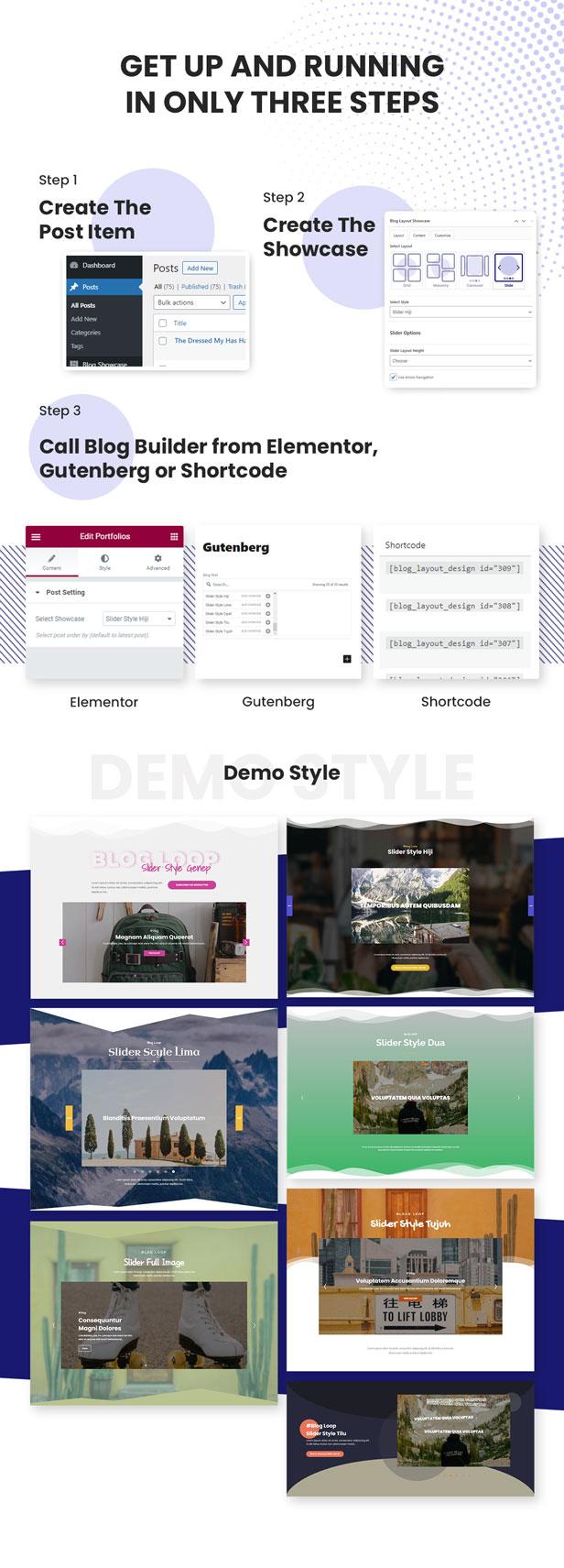 Advanced Slider Blog Layout Design - 4