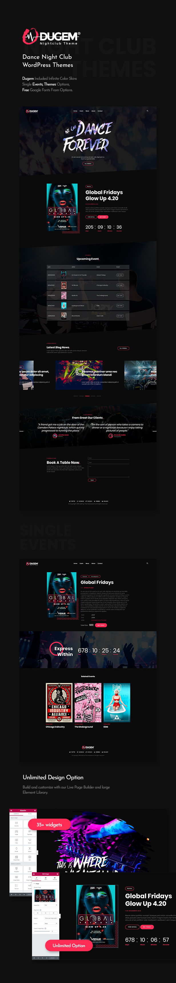 desc  Download Dugem | Dance Night Club WordPress Theme nulled descriptions