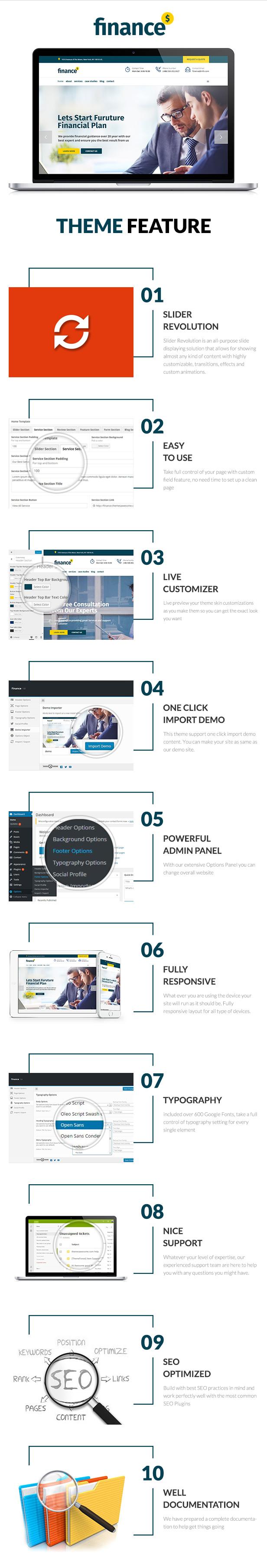 Finance - Business Accounting WordPress Theme - 4