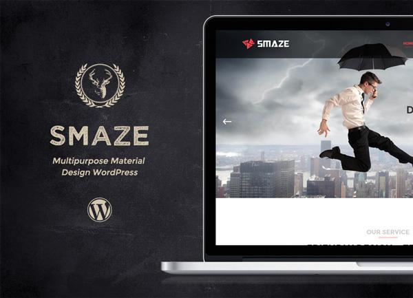WordPress theme Smaze - Multipurpose Modern Theme (Business)