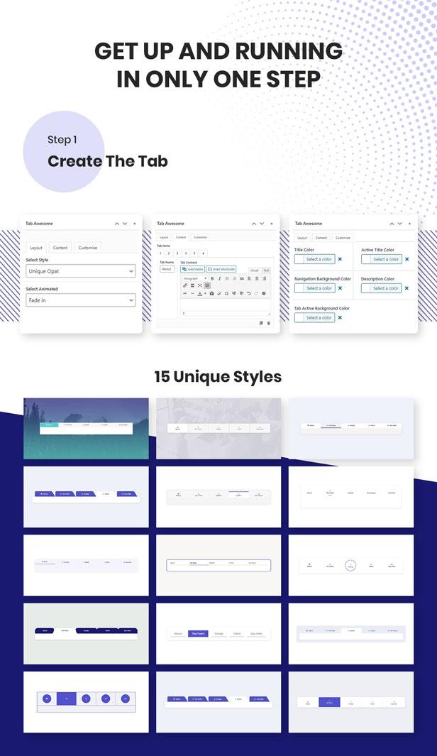 WordPress Tab Plugin - Tab Awesome Pro - 4