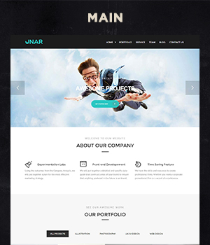 Unar - Modern & Clean Business WordPress Theme