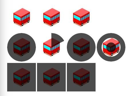 simple yet amazing CSS3 border transition effects