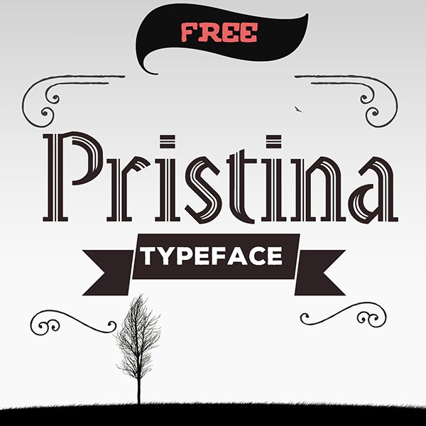 Pristina Fonts Download