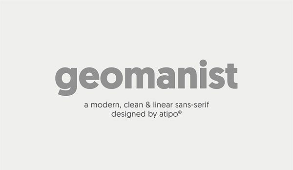Geomanist Font Download