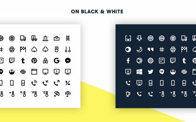1800 Minimal Icons