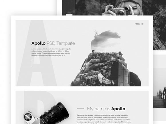 apollo html onepage website template