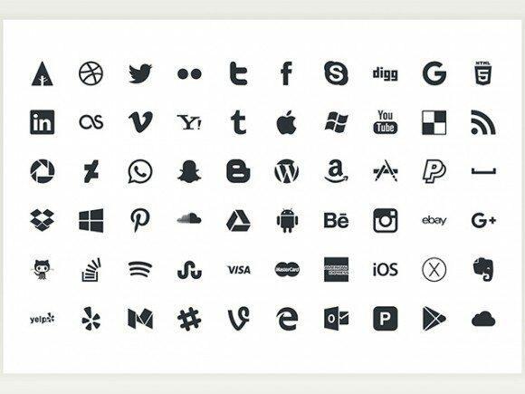 picons social 60 free icons