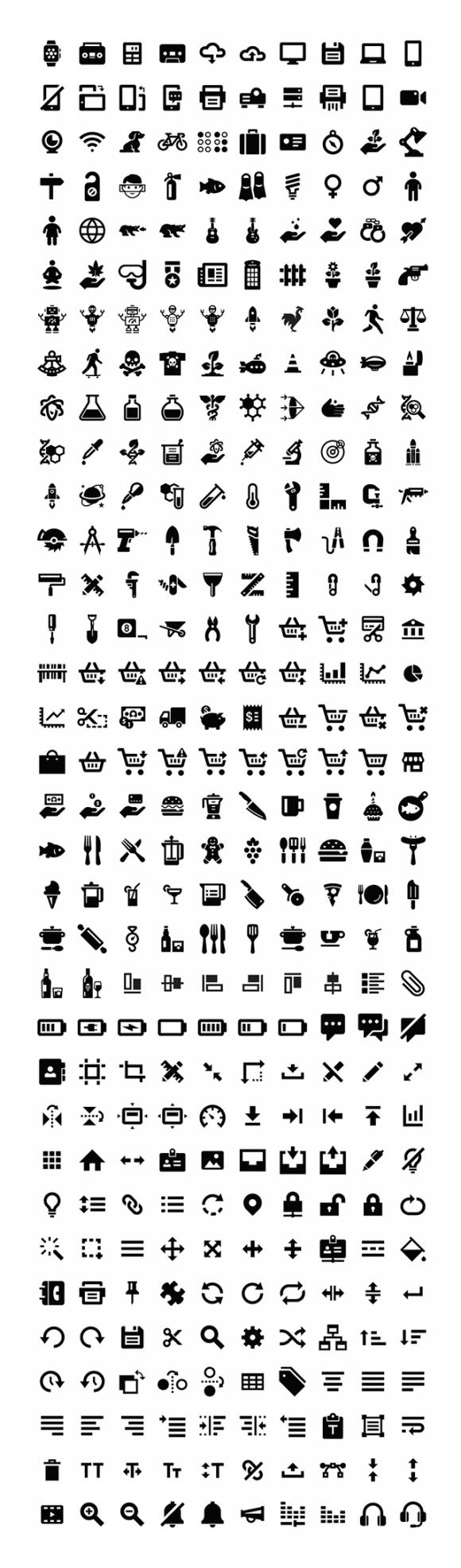 iconify free icons set 1