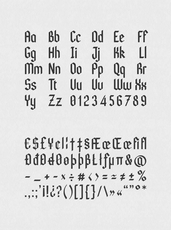 Kodex Font