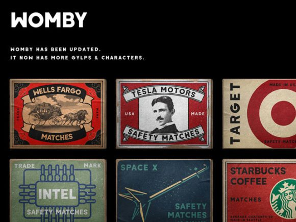womby free font featured