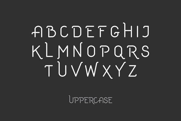 1.free font