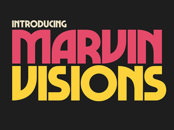 marvin free font