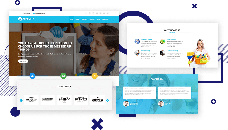 House Cleaning Service WordPress Theme