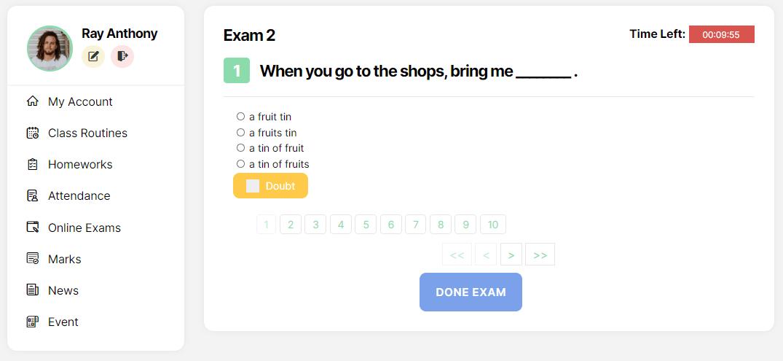 Exam Murid