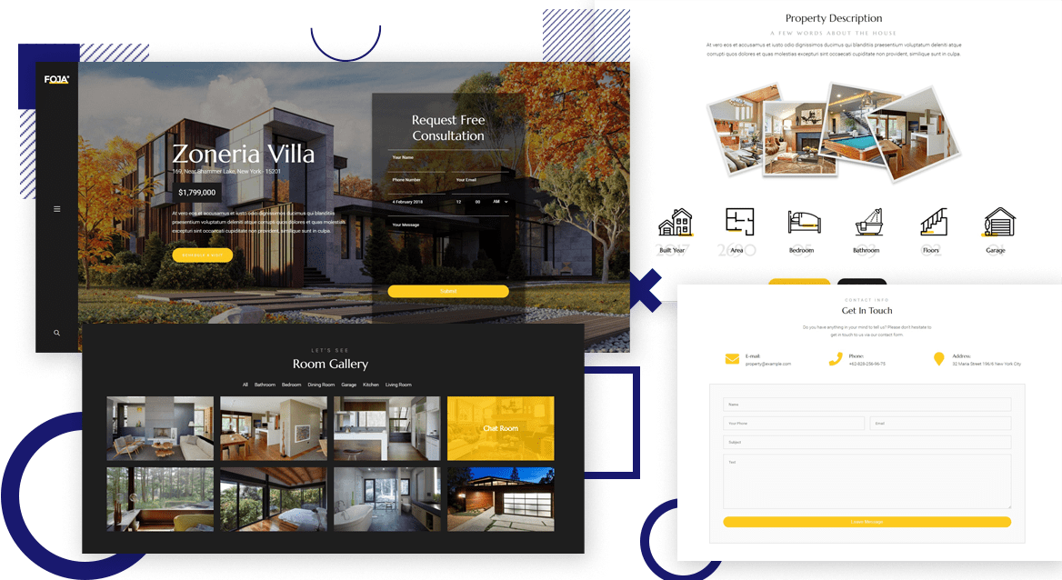 Single Property WordPress Theme​