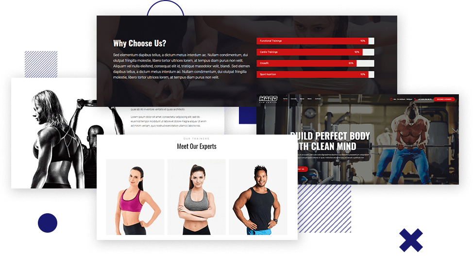 Gym WordPress Theme​