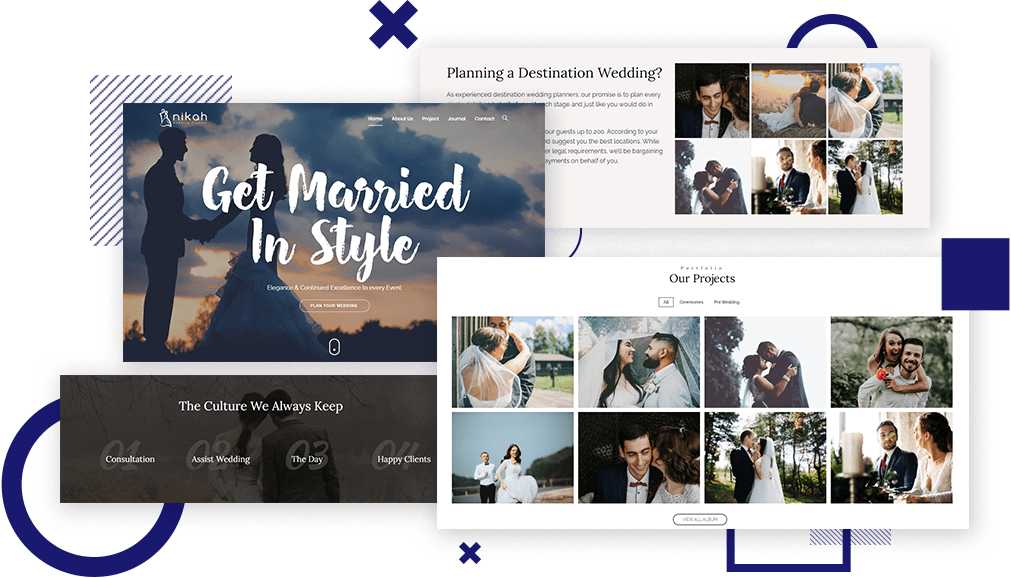 Wedding Theme WordPress​