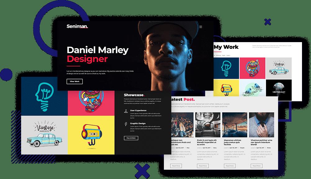 Modern WordPress Portfolio Themes