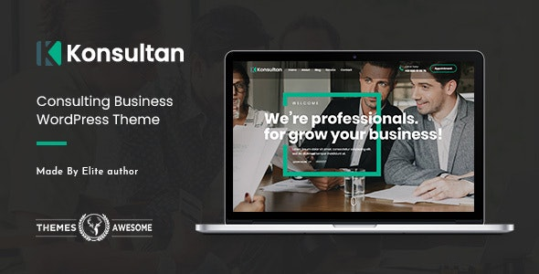 konsultan feature themeforest.  large preview