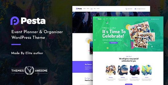 pesta feature themeforest. large preview