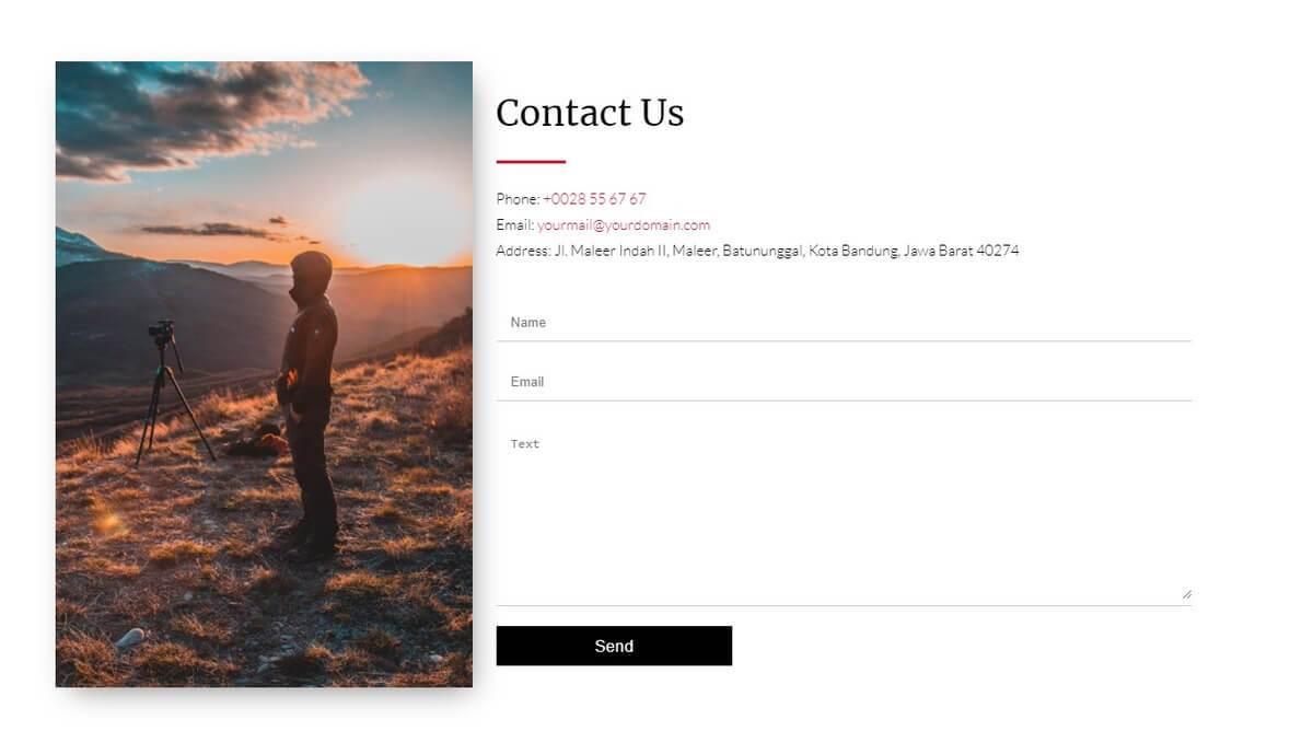 rekam contact