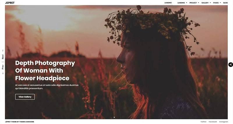 slider page
