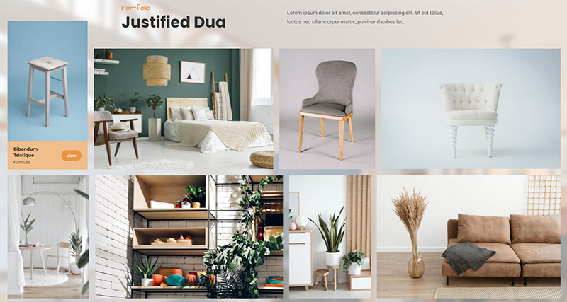 Justified Dua – Portfolio Awesome