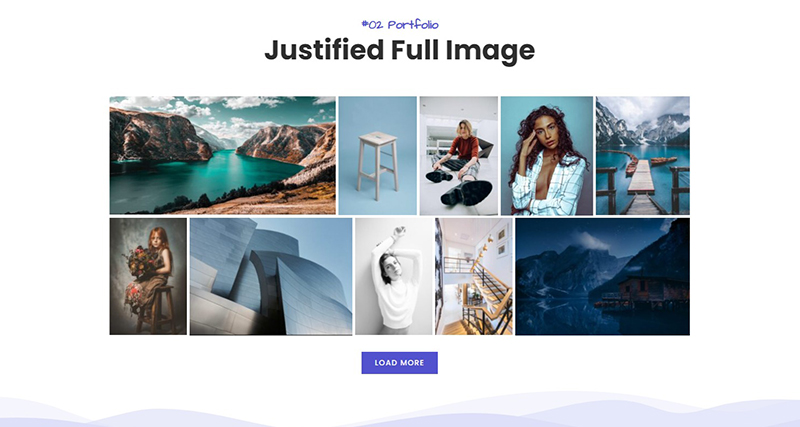 Justified Full Image 2 – Portfolio Awesome