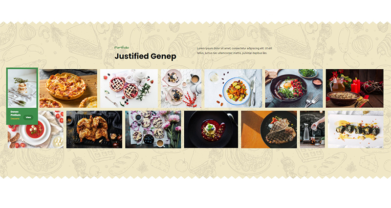 Justified Genep – Portfolio Awesome