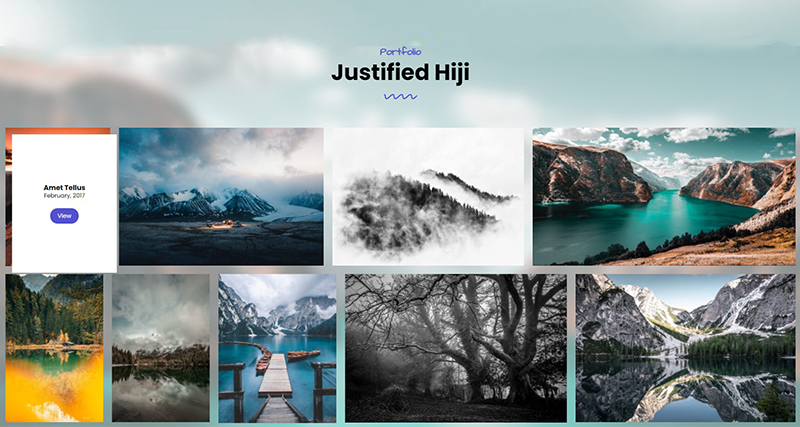 Justified Hiji – Portfolio Awesome