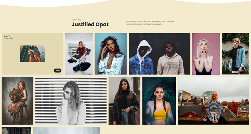 Justified Opat – Portfolio Awesome