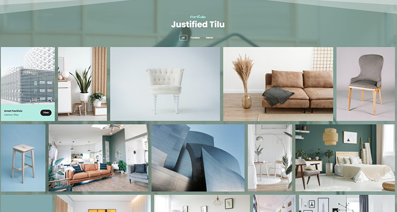Justified Tilu – Portfolio Awesome