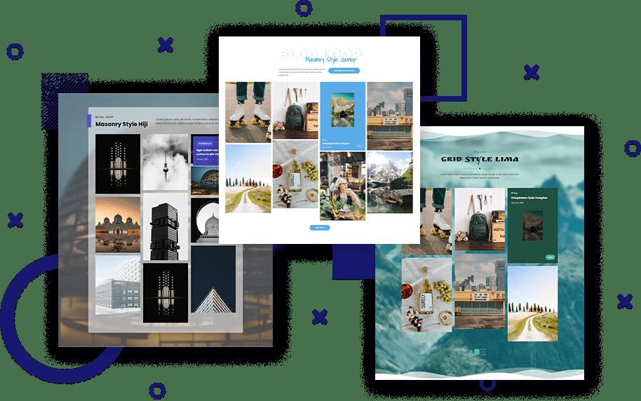 WordPress post masonry grid