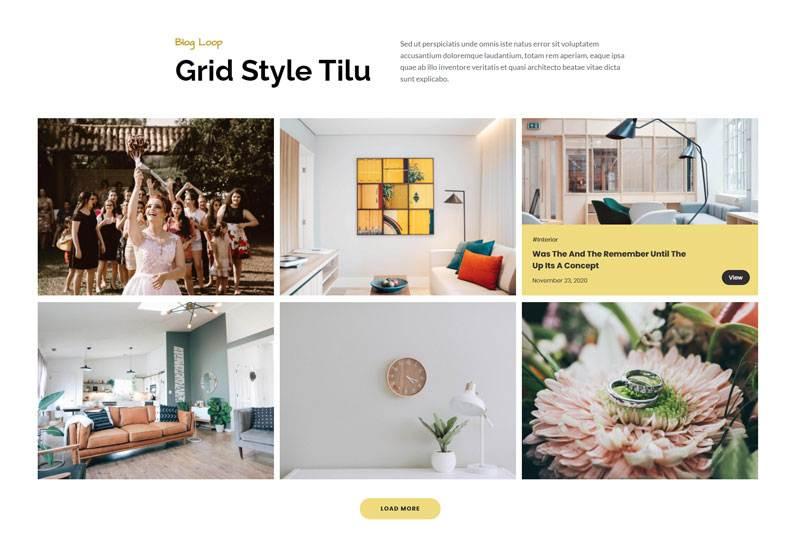 grid style tilu